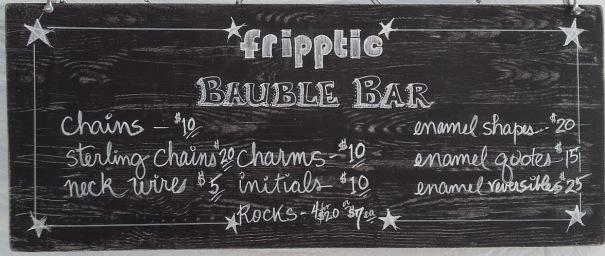 bauble bar sign